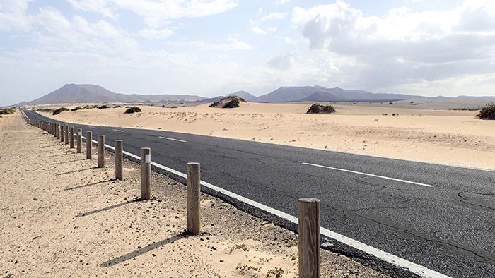 ©Aurélie Marcellak | Une route à Fuerteventura