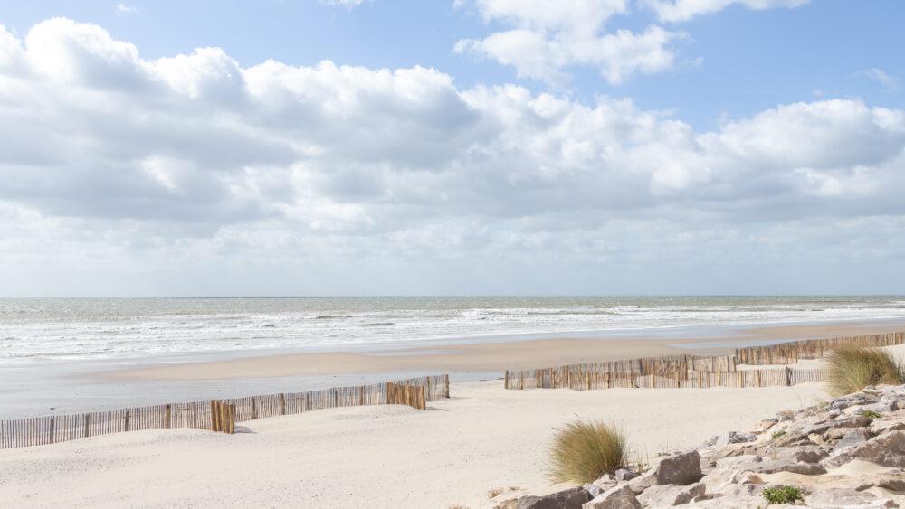 ©Aurélie Marcellak | La plage de Ste-Cécile au premier déconfinement